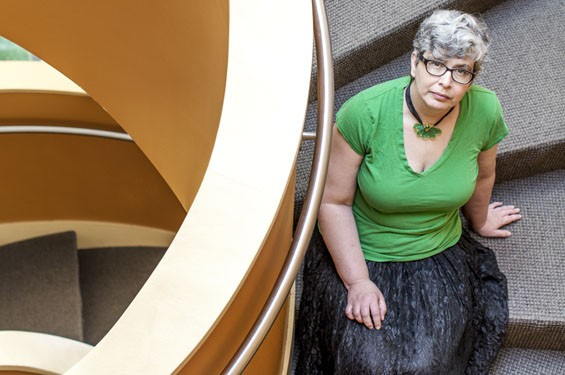 St. Louis mother and first-time novelist Ann Leckie has already won two of science fiction's most prestigious awards this year. - JENNIFER SILVERBERG