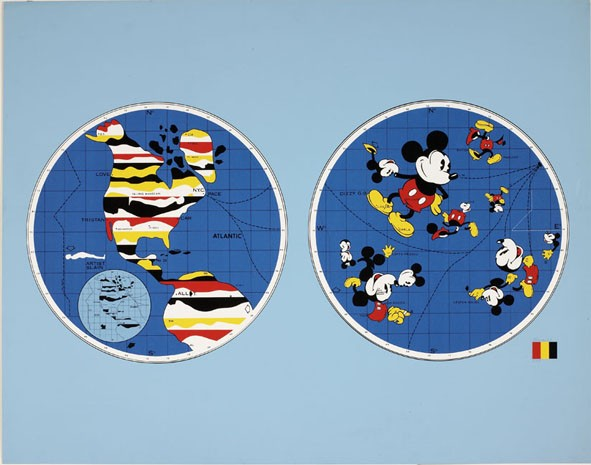 Mickey Mouse World, 1968 - WWW.FRIEDLANDART.COM