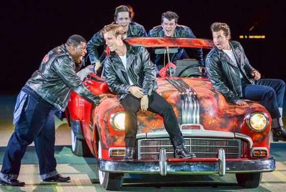 Grease lights up the Muny. - PHILLIP HAMER