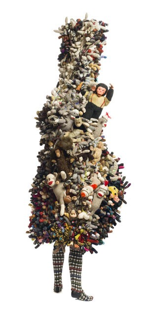 From Nick Cave's Soundsuits. - PHOTOS BY JAMES PRINZ PHOTOGRAPHY. COURTESY OF THE ARTIST AND JACK SHAINMAN GALLERY, NEW YORK © NICK CAVE