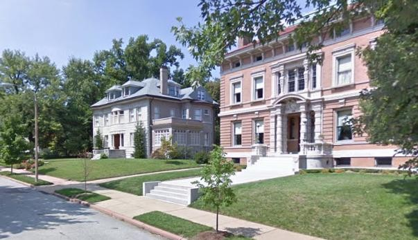 A couple of the turn-of-century homes in Compton Heights, some of which can go for as low as $200,000, according to This Old House. - GOOGLE MAPS