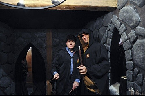 The wizarding world of Rod Blagojevich. (Is there any significance at all in that Curtis Stone's wand is bigger?) - IMAGE SOURCE
