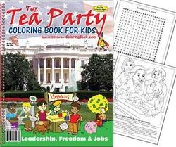 Tea Party Coloring Book Selling Like Hot Cakes | News Blog