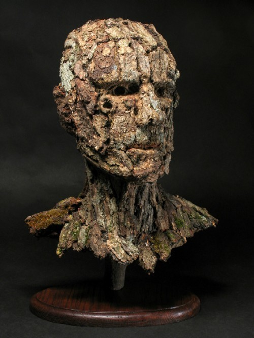 Revered, from Countenances at Chesterfield Arts - ADAM LONG