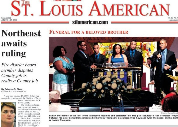 St. Louis American. - VIA FACEBOOK