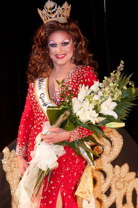 Miss Gay East Coast America Jessica Jade is crowned as the 2014 Miss Gay America winner.  See the full slideshow of photos here. - JON GITCHOFF