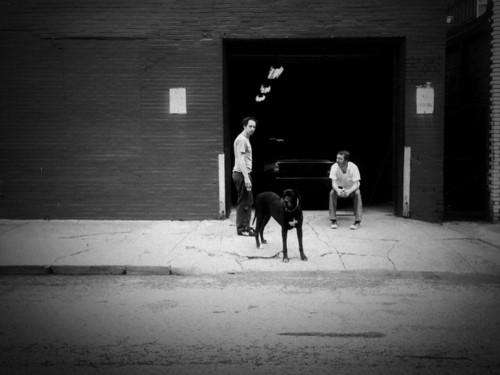 Paul Jackson and Jake Houvenagle, the masterminds behind ShootPaul.com, and a friend. - IMAGE VIA