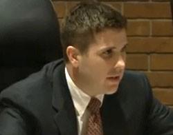 Mayor Adam Paul. - VIA KSDK.COM VIDEO