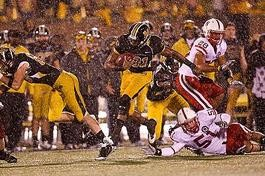 Mizzou lost a heartbreaker last October when Nebraska (and a monsoon) visited Faurot Field. - IMAGE VIA