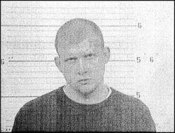 A 2005 mugshot of Reggie O. Allen