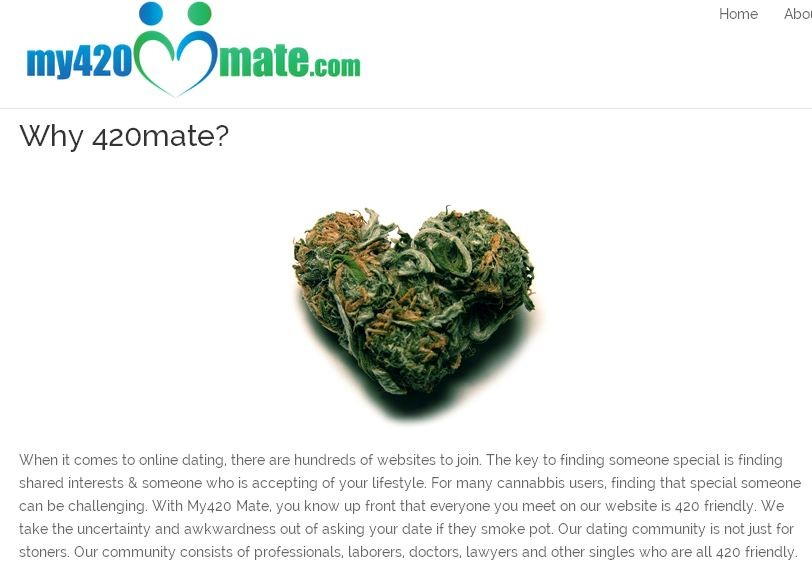 Pot friendly dating site