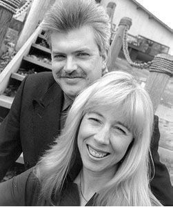 Doin' it old school: '90s Lake St. Louis amateur-erotica pioneers Tom and Suzi Wahl. - RFT FILE PHOTO