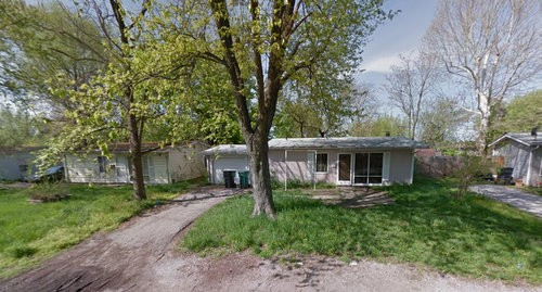 The Cahokia home police investigated. - GOOGLE MAPS