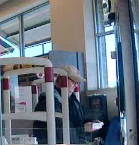 The Kirkwood Police want to know if you've seen this man -- perhaps in the neighboring pew. - COURTESY OF THE KIRKWOOD POLICE DEPARTMENT