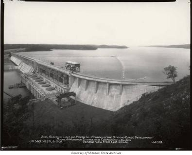 Bagnell Dam, circa 1931