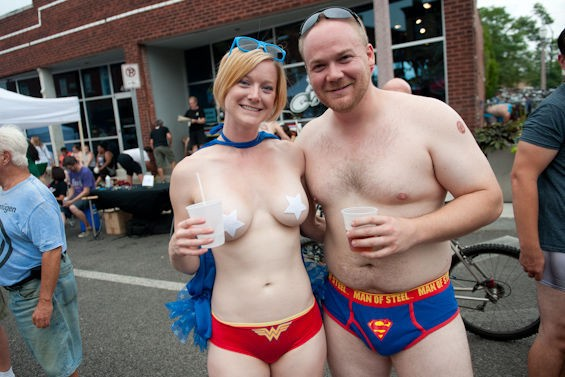 Their superpower is shirtlessness. - JON GITCHOFF