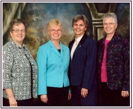 The current leaders of the Franciscan Sisters of Mary. - IMAGE VIA