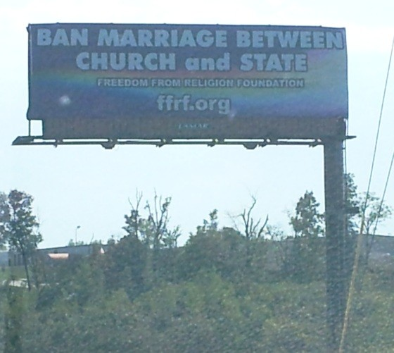 This billboard now stands on Highway 169 in Clay County - PROVIDED BY THE FFRA.ORG
