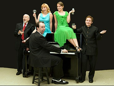 Vatican ragtime: West End Players Guild engages in TomFoolery - WWW.WESTENDPLAYERS.ORG