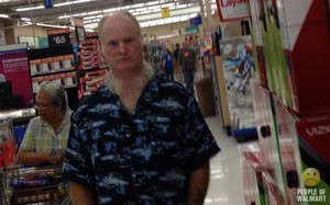 Eyes that bore into the soul, neck beard that bends the mind. - PEOPLE OF WALMART