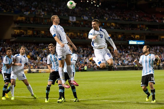 Bosnia-Herzegovina plays Argentia at Busch Stadium. - RIVERFRONT TIMES