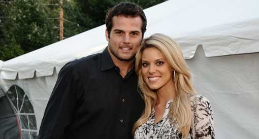 St. Louis Rams quarterback Kyle Boller with girlfriend Carrie Prejean, who's become famous (or infamous) in her own right, back in September. See more photos. - PHOTO: EGAN O'KEEFE