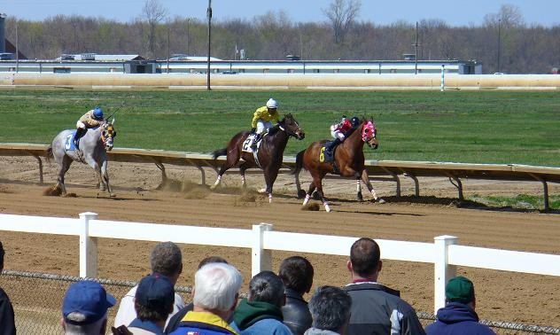 Opening Day at Fairmount Park this past April - PHOTO: CHAD GARRISON