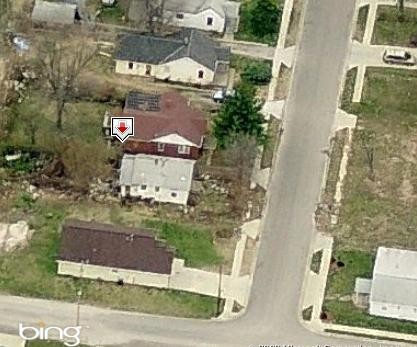 The home at 1109 N. 44th Street where Hollis was allegedly murdered. - BING MAPS