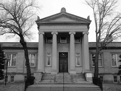 The Carondelet Branch of the St. Louis Public Library. - IMAGE VIA