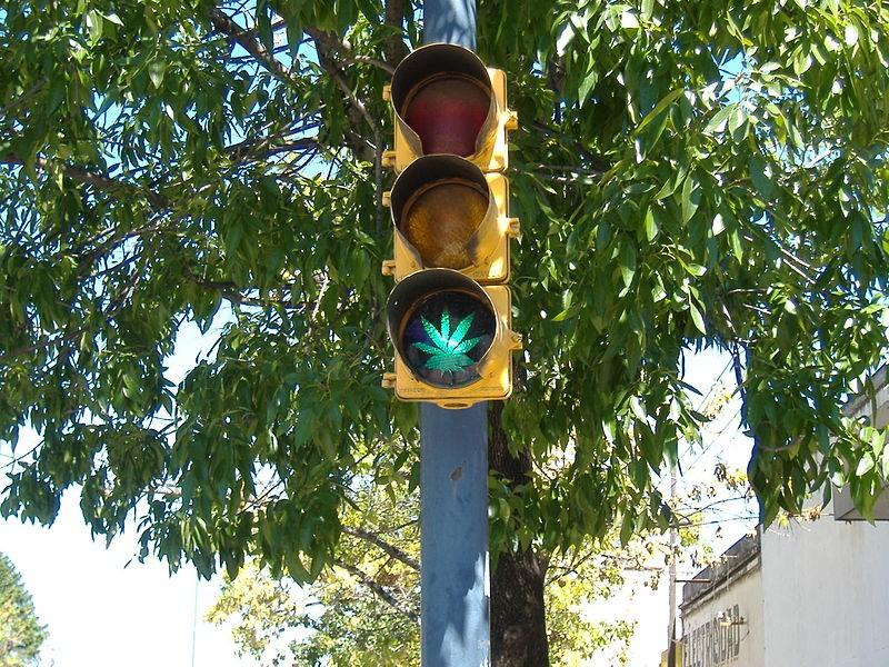 Marijuana got a tiny green light in Missouri last month. - PABLO FLORES/WIKIMEDIA
