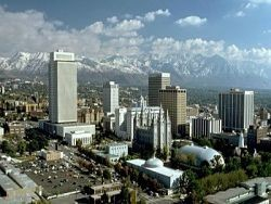 Salt Lake City: Except for the mountains, its resemblance to St. Louis is, well, not striking at all.