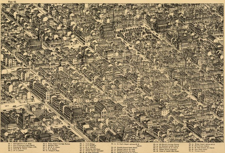 For Sale: Stunningly Detailed 1875 Maps of Old St. Louis ...