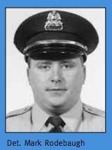 Detective Mark Rodebaugh. - VIA