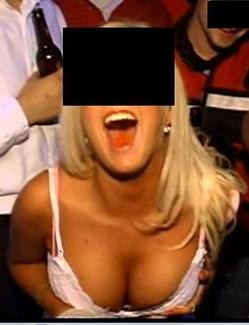 """Jane Doe"" as she appears in a Sorority Girl Orgy dvd."