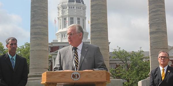 Governor Jay Nixon. - VIA GOVERNOR.MO.GOV