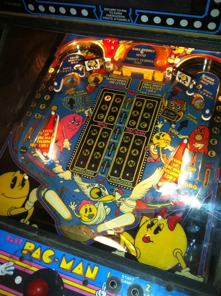 For Sale On Craigslist Sweet Baby Pac Man Arcade Pinball