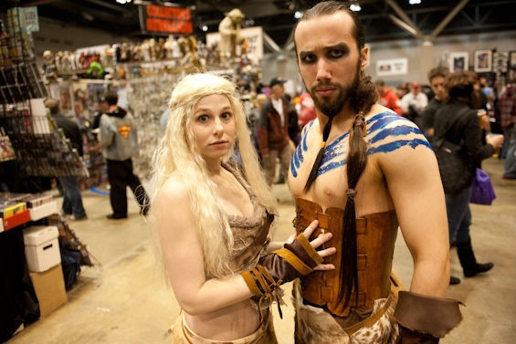 The Khaleesi and Khal Drogo found each other. Who's next? - JON GITCHOFF