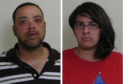 Sean Starwalt and his girlfriend, Patricia Cage, allegedly ate fast-food as her child slowly bled to death.
