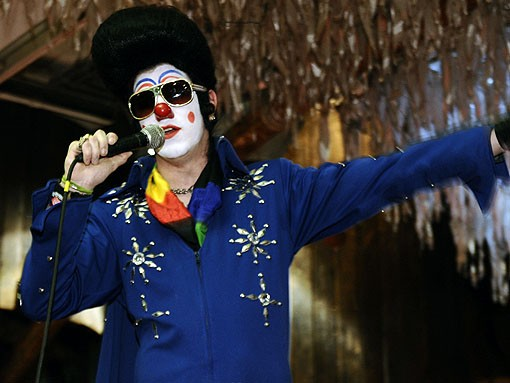 About-town emcee Clownvis Presley. See more photos from last night's RFT Best Of St. Louis party. - PHOTO: EGAN O'KEEFE