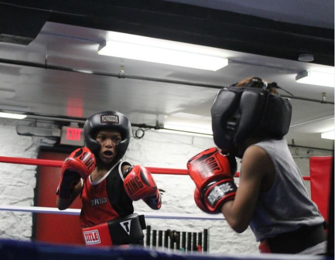 Training at St. Louis All City Boxing. - RAY DOWNS