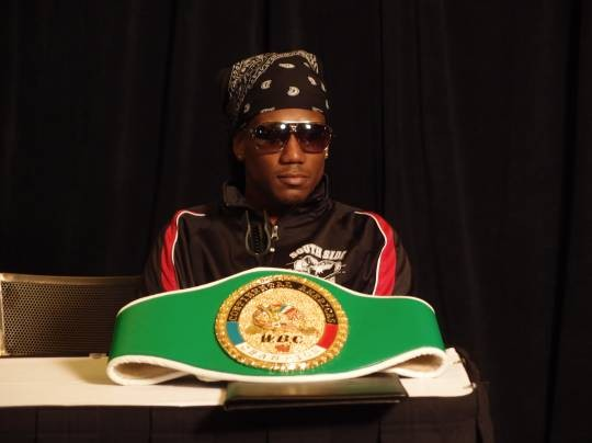 "WBC Continental Americas lightweight champion Dannie Williams: ""The first couple of rounds, I try to take their hearts."" - ALBERT SAMAHA"
