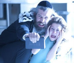 Rapper Matisyahu and Natalie Calis in The Possession. - DIYAH PERA