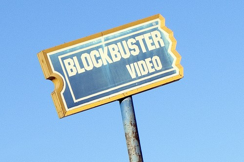 Your unborn children will never know what it means to rent a movie from Blockbuster. - TREBOMB ON FLICKR