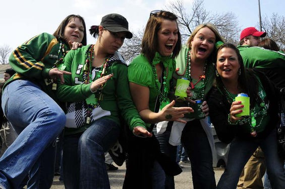 If you missed St. Louis' Mardi Gras celebration, make it up to yourself by going to St. Patrick's Day. - DAVID WALTHALL