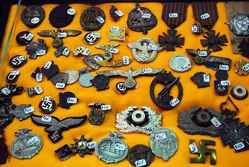 War medals were sold from many sides of many wars. - PHOTO: MATT BLICKENSTAFF
