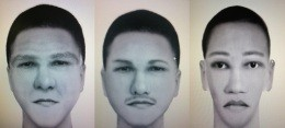 These are composites of the man who fatally shot Phebe and Mosary Stallings Monday in U. City