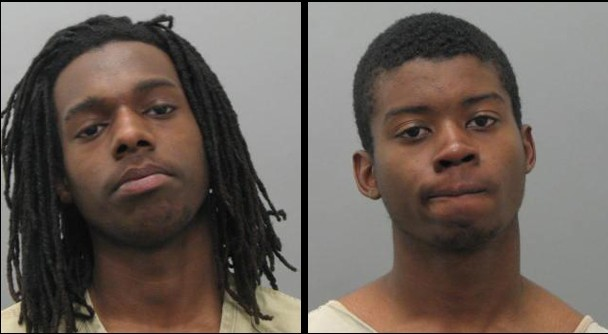 Montez Thomas (left) and Christopher Gales (right) face multiple charges.