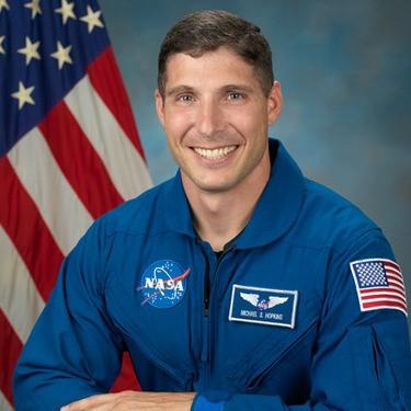 Astronaut Mike Hopkins. - MIKE HOPKINS VIA TWITTER