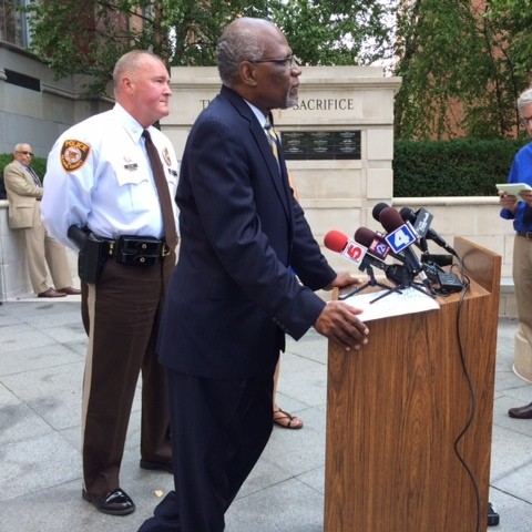 """Both County Executive Charlie Dooley and St. Louis County Police Chief Jon Belmar said the Fenton precinct's Facebook post was """"offensive."""" - LINDSAY TOLER"""
