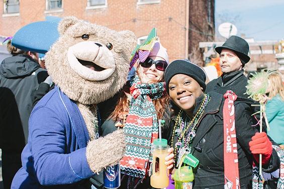 It was bear-y cold out... - ABBY GILLARDI